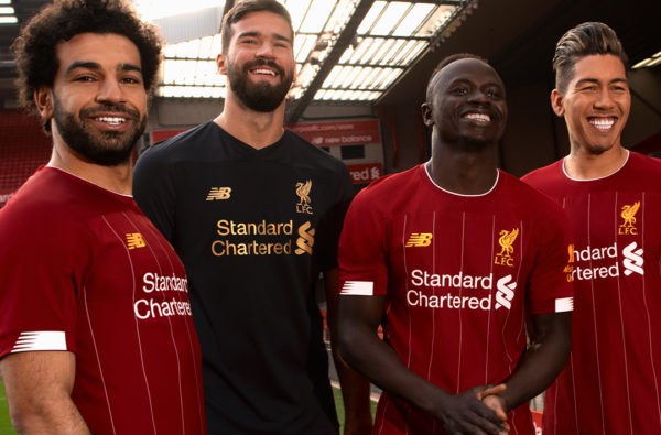 New Balance Reveals Liverpool's 2019/20 Home Kit