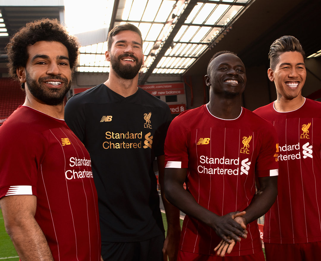 b18eb322728 Image via New Balance. New Balance Football have just dropped the first  look at Liverpool Football Club's 2019/20 home kit, which pays homage ...