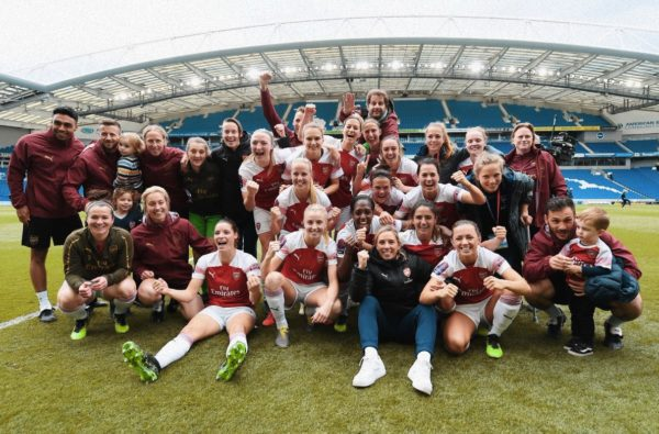 Arsenal Secure Women's Super League Title After 4-0 Win Over Brighton