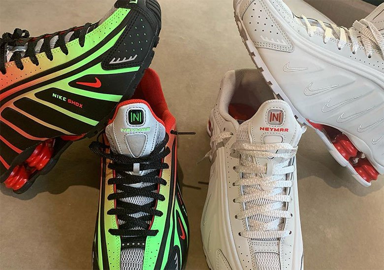 8431782092b2 Neymar Jr. Reveals Upcoming Nike Shox R4 Collaboration