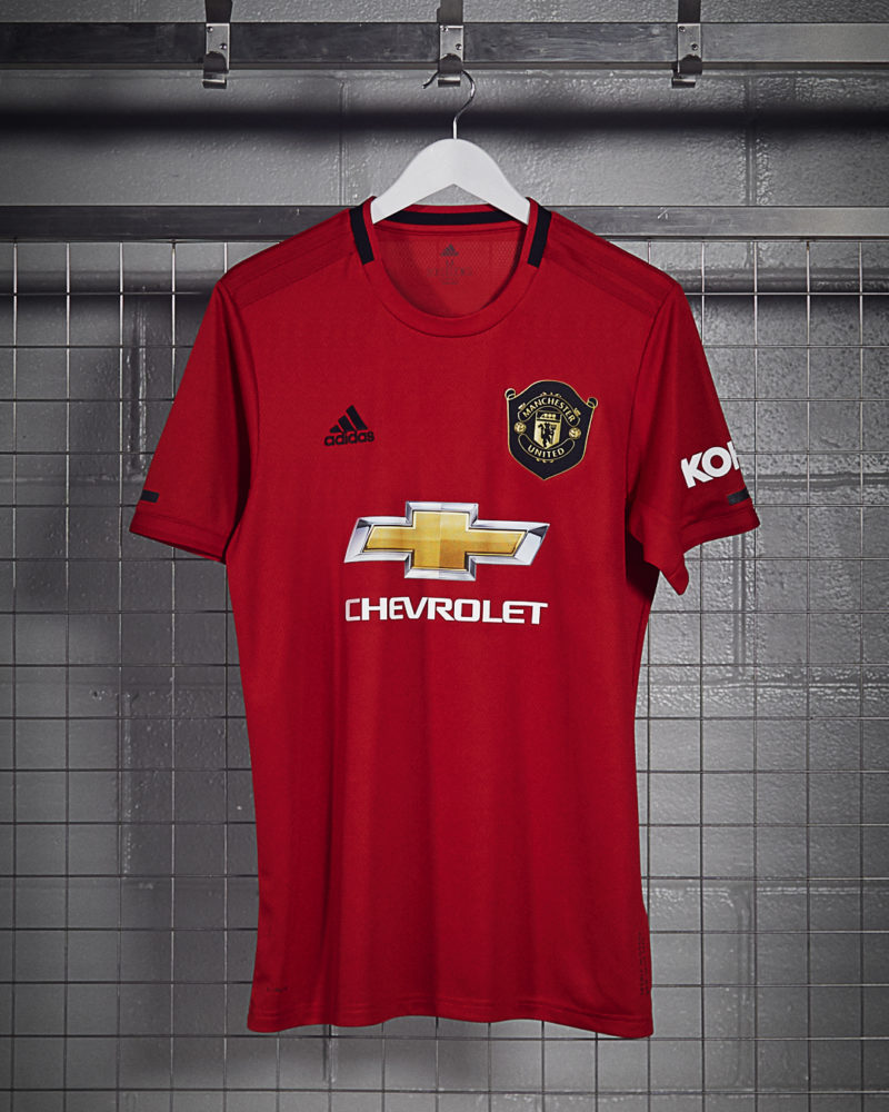 finest selection c54ba ad555 adidas and Manchester United Launch 19/20 Home Kit ...