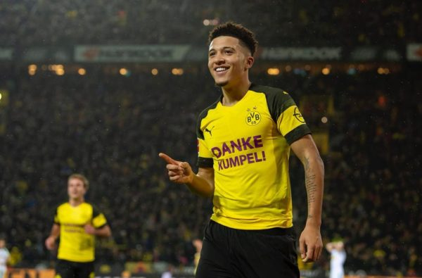 Jadon Sancho Receives a 96-Rated Card in FIFA 19's Bundelisga Team of the Season