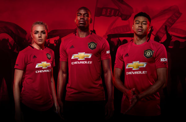 adidas and Manchester United Launch 19/20 Home Kit Celebrating 1999 Treble