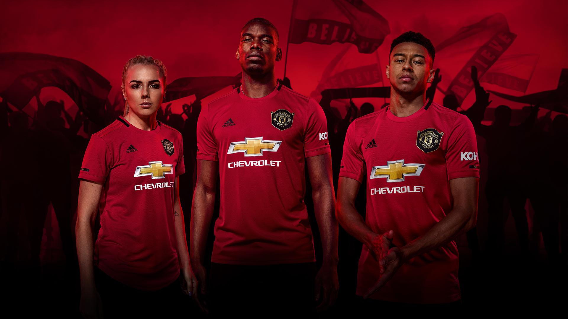 finest selection 0113c 3cc01 adidas and Manchester United Launch 19/20 Home Kit ...