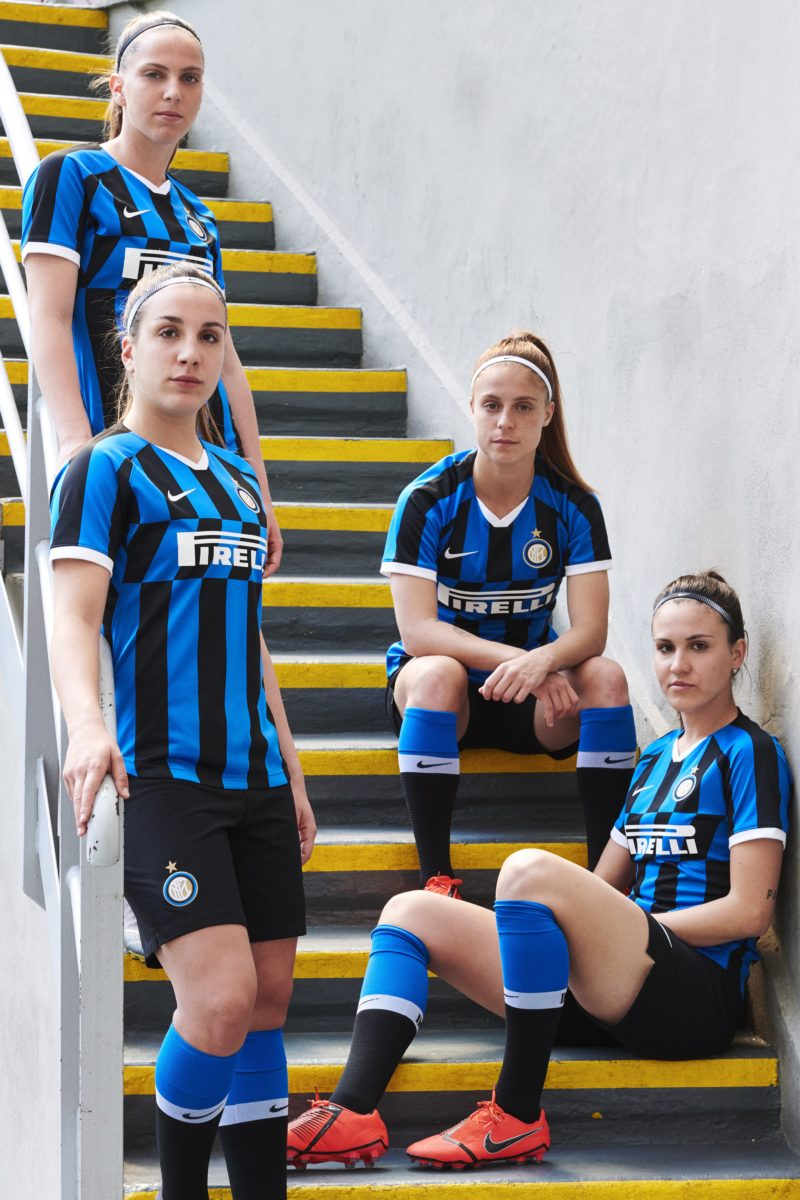cheap for discount b157e 5aef9 Nike Rip Up Tradition with Inter Milan's 2019/20 Home Jersey
