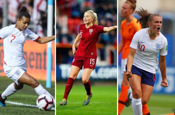 Georgia Stanway, Leah Williamson and Nikita Parris All Feature in England's Women's World Cup Squad