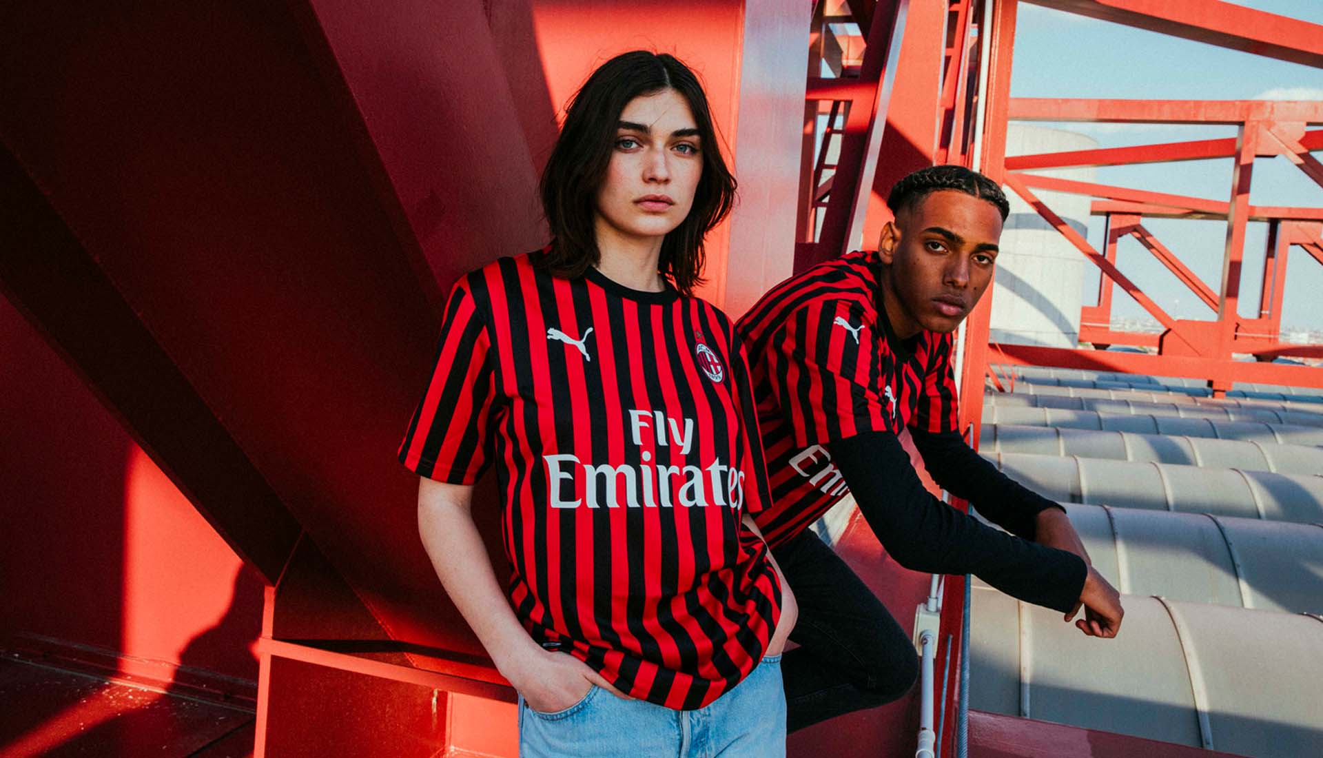 check out 46013 c340a PUMA and AC Milan Bring Back Narrow Stripes for the Club's ...
