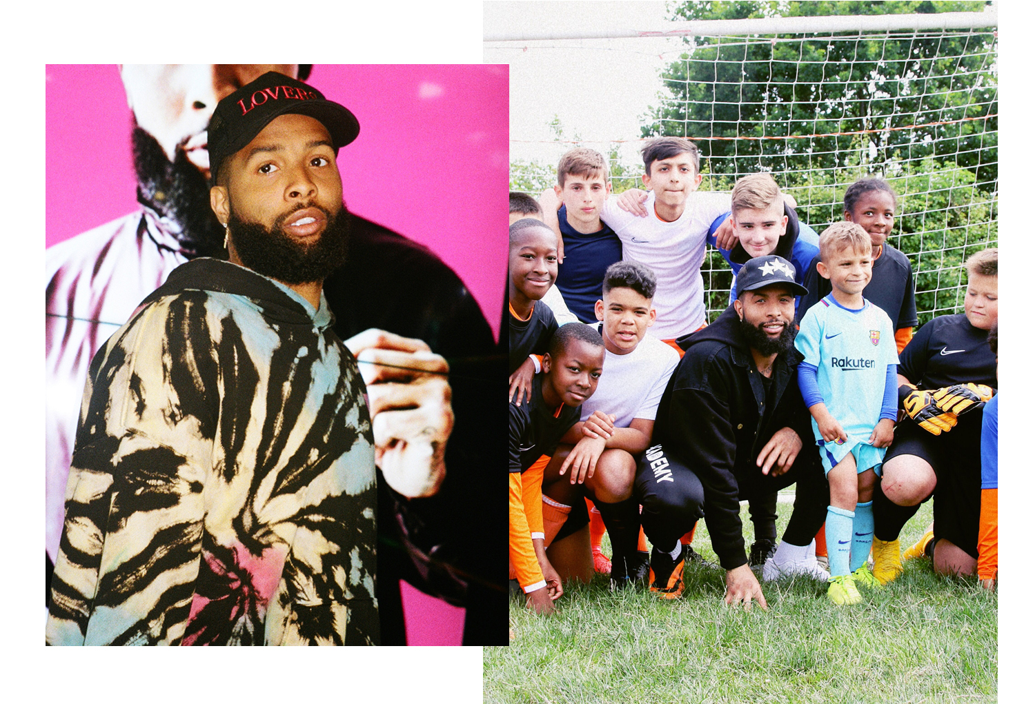 Odell Beckham Jr Took Over Tottenham with Nike to Meet London's Next Generation of Stars