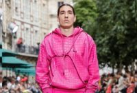 Hector Bellerin Hits the Runway for Virgil Abloh's Louis Vuitton Show at Paris Fashion Week