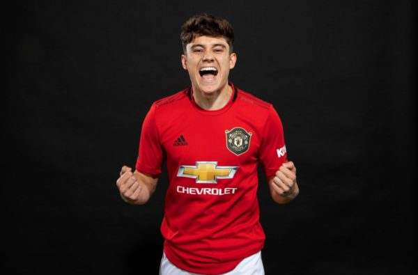21-Year-Old Daniel James Officially Joins Manchester United from Swansea