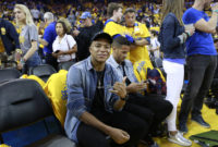 Kylian Mbappé Touched down Courtside to See the Toronto Raptors Win the NBA Finals