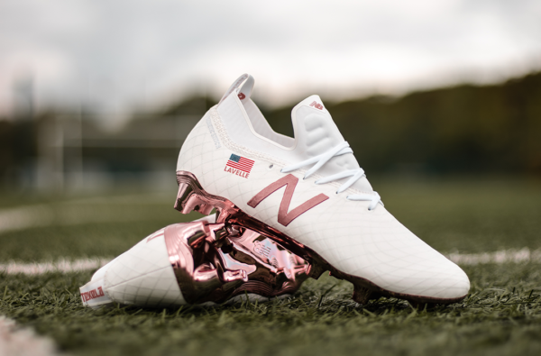 New Balance Drop a Rose Gold Tekela Boot for USA Playmaker Rose Lavelle