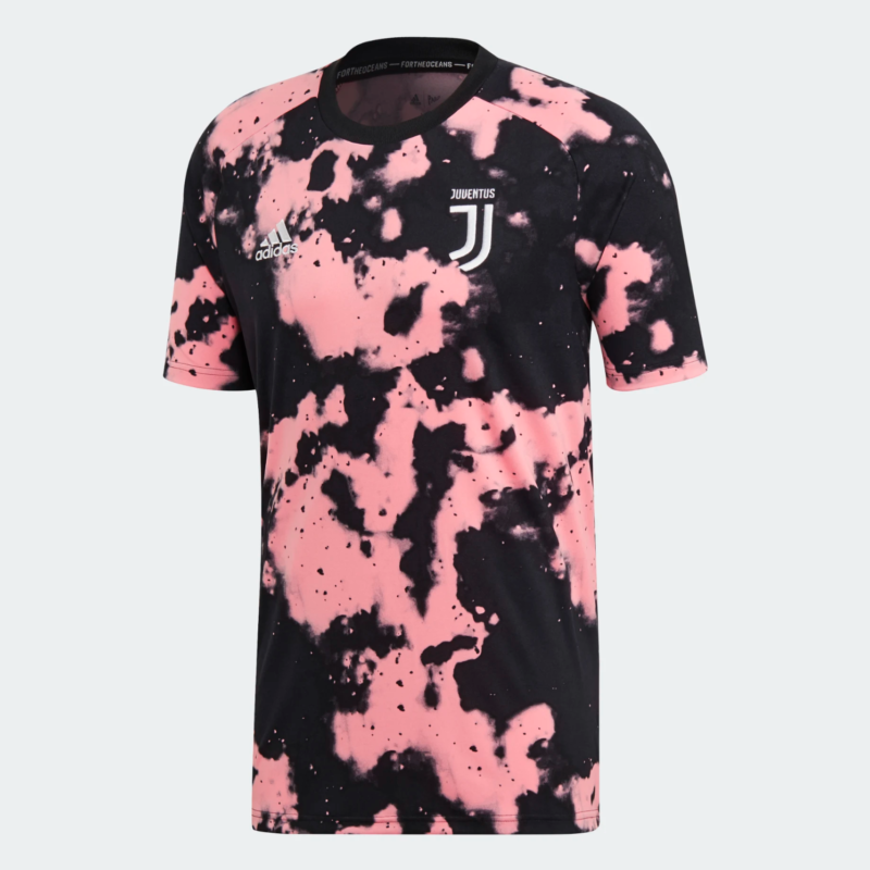 innovative design 8f026 9683a adidas and Juventus Drop Wavey Parley Pre Match Jersey