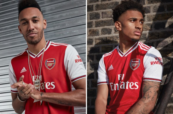 adidas and Arsenal Start a New Era in North London with a Fire Home Kit for Next Season