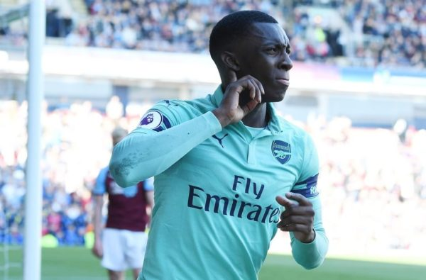 Eddie Nketiah Has Backed Himself to Challenge Aubameyang and Lacazette for a Place in Arsenal's Starting XI Next Season