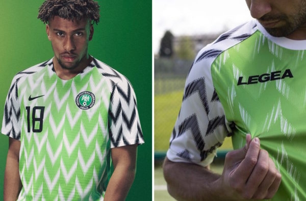 An Italian Sportswear Brand has Blatantly Ripped Off Nigeria's World Cup Jersey