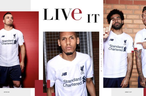 New Balance Unveil Liverpool's Iced-Out 2019/20 Away Shirt