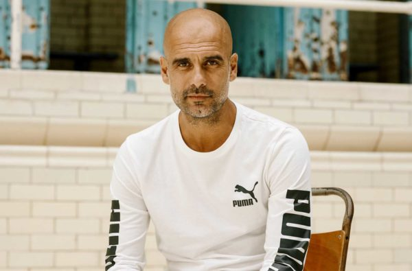 Pep Guardiola Officially Signs Long-Term Partnership With PUMA