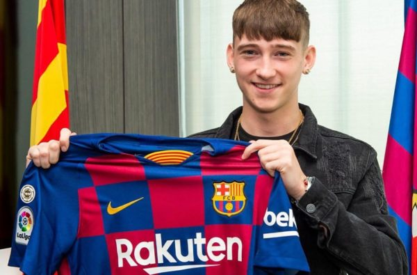 Barcelona Just Signed England Under-16 Baller Louie Barry from West Brom