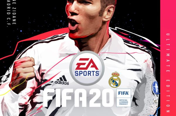 Zinedine Zidane is the New Cover Star of the FIFA 20 Ultimate Edition
