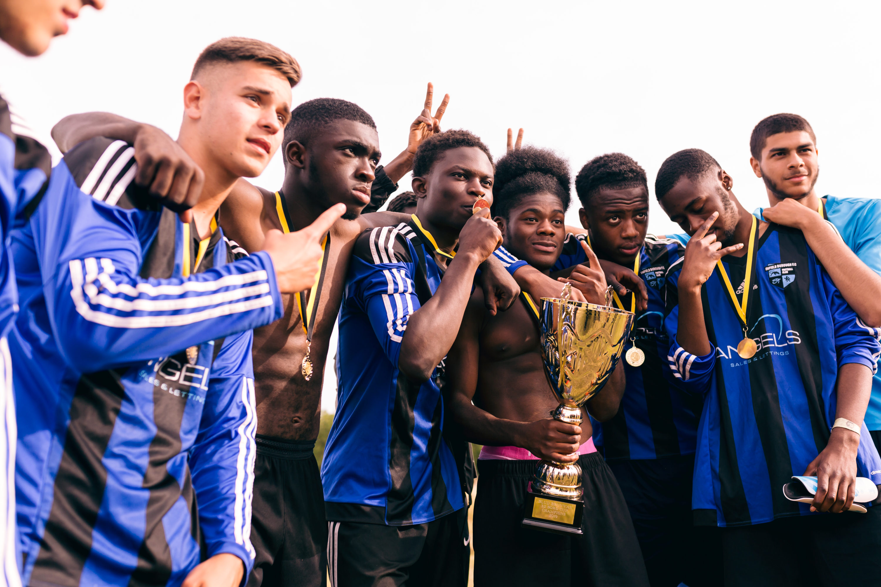 600 of London's Best Young Ballers Took Part in the First Ever 32 Boro Cup by Hackney Wick FC