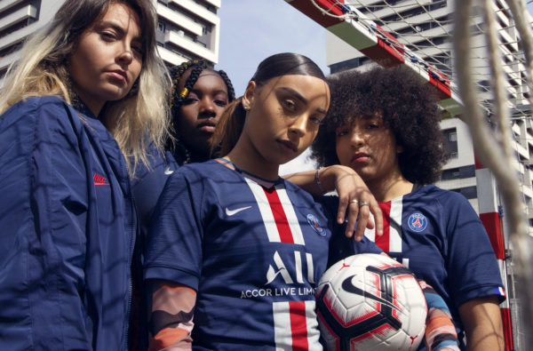 Nike and Paris Saint-Germain Bring Back the Club's Historic Stripe for 2019/20