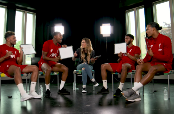 Watch The Ox, Gomez, Brewster and van Dijk Take on the LFC Hip-Hop Quiz
