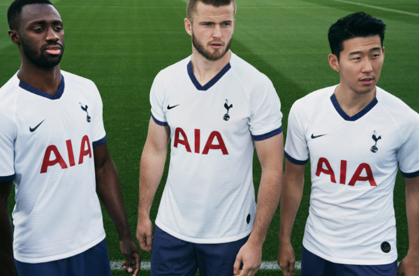 Nike and Tottenham Hotspur Celebrate the Club's N17 Homecoming with Clean New Kits for 2019/20