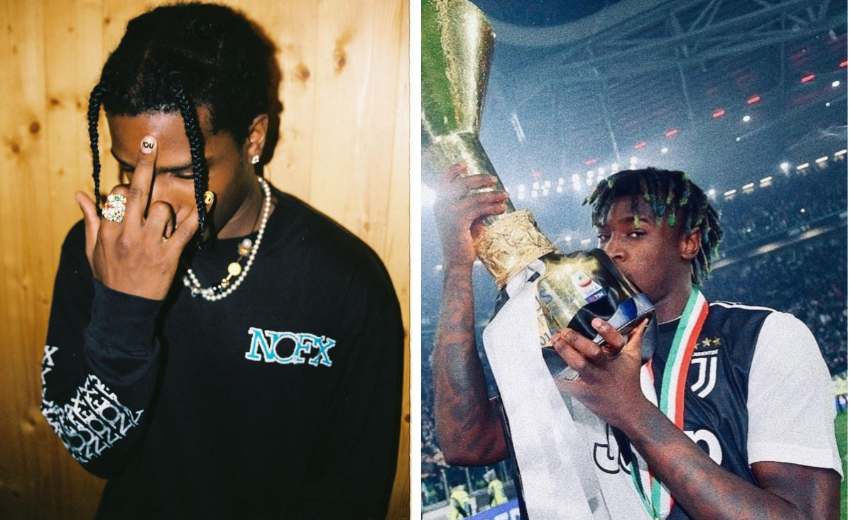 Moise Kean Shows His Support For A Ap Rocky By Sharing Justiceforrocky Petition