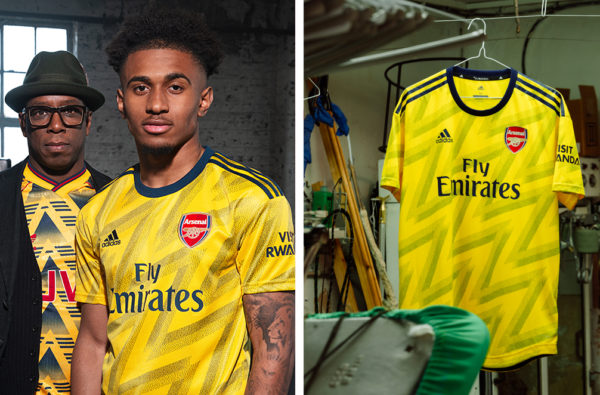 adidas and Arsenal's New Away Kit is a Reinvention of the Club's Iconic 'Bruised Banana' Jersey