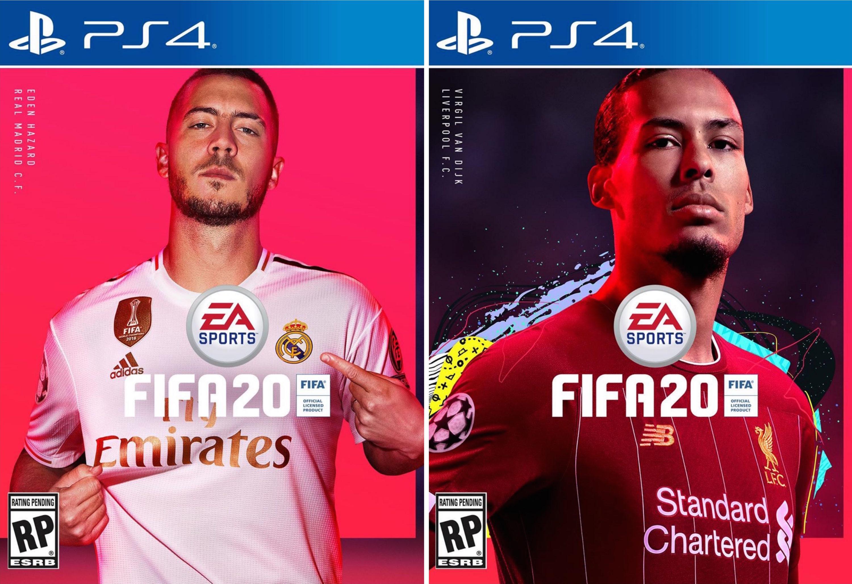 Eden Hazard and Virgil van Dijk are the New Cover Stars of FIFA 20