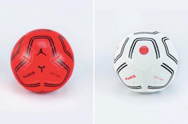 Paris Saint-Germain x Jordan Brand Release Two Wavey Co-Branded Footballs for the New Season