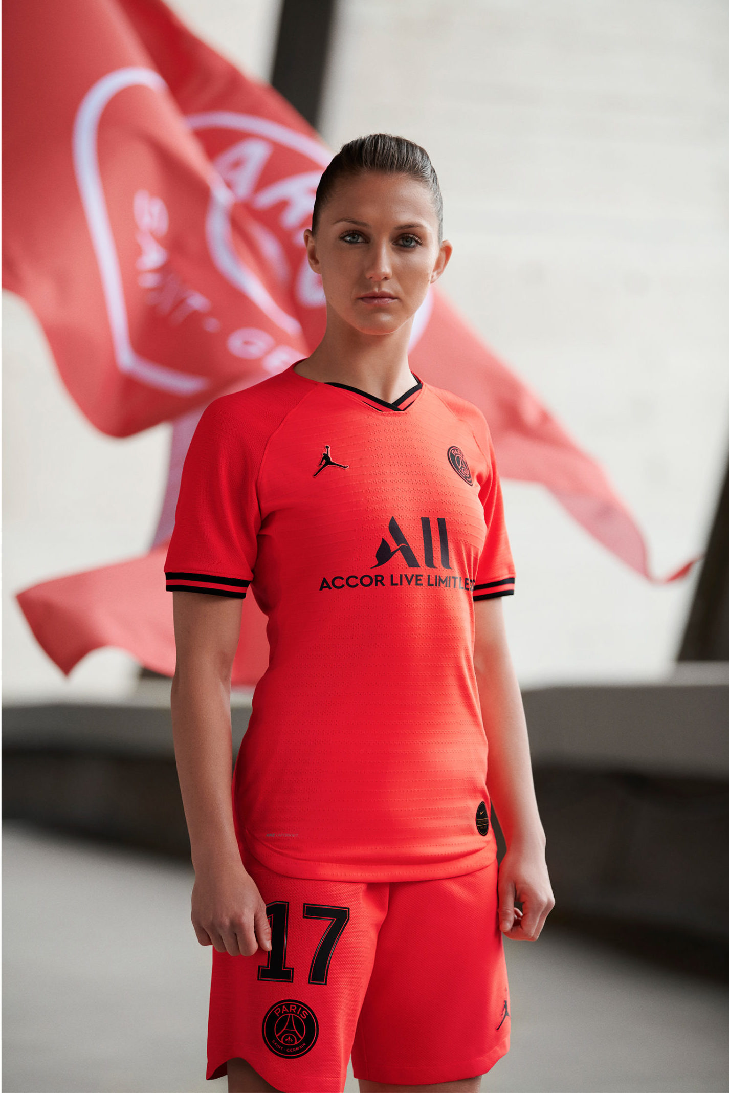 more photos d372a e7d2b Paris Saint-Germain and Jordan Brand Go 'Infrared' for the ...