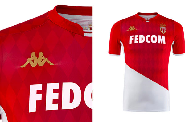 Kappa and AS Monaco Kick Off their New Partnership by Dropping the Club's New Home Kit for 2019/20