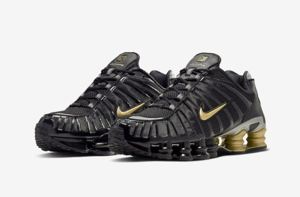 Neymar's Next Nike Shox Model is Dripped Down in Black and Gold