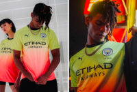 PUMA and Manchester City Drop off Their Drippy Third Kit for the 2019/20 Season