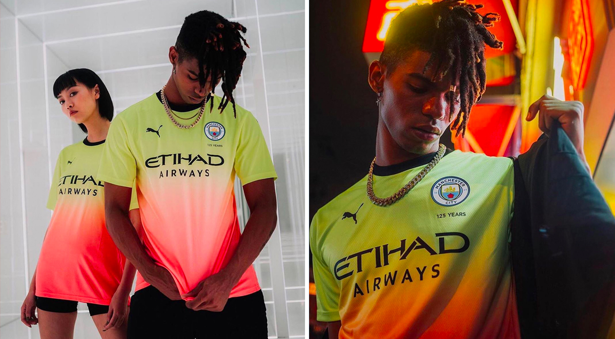 big sale 98641 8cf77 PUMA and Manchester City Drop off Their Drippy Third Kit for ...