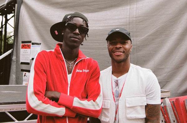 Raheem Sterling Pulled Up to Wireless Festival and Joined MoStack on Stage