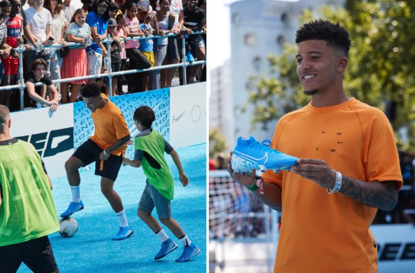 Jadon Sancho Shut Down Paris with Nike to Launch the New Mercurial 360 Boot