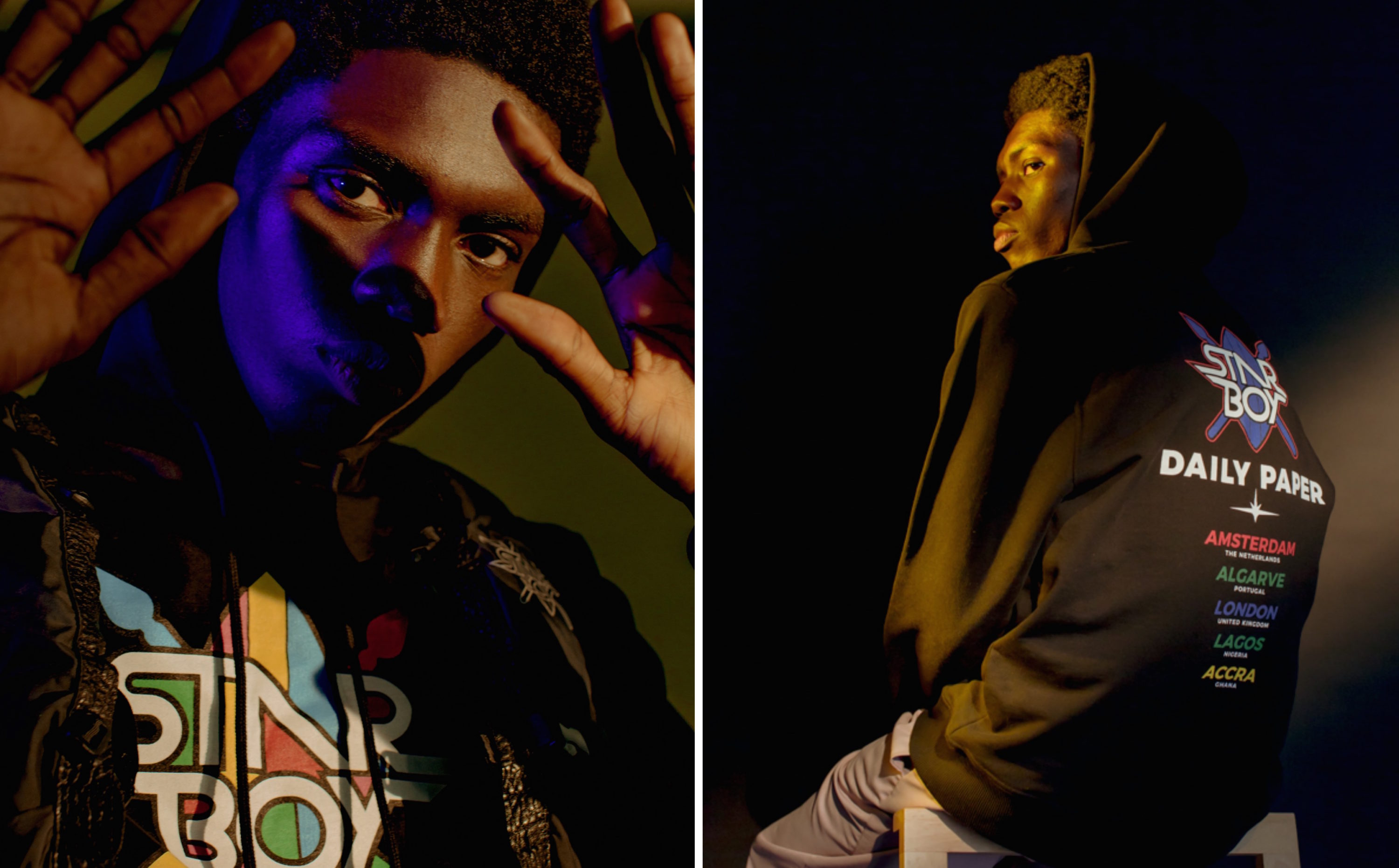 Daily Paper Goes International with the STARBOY Collection Alongside