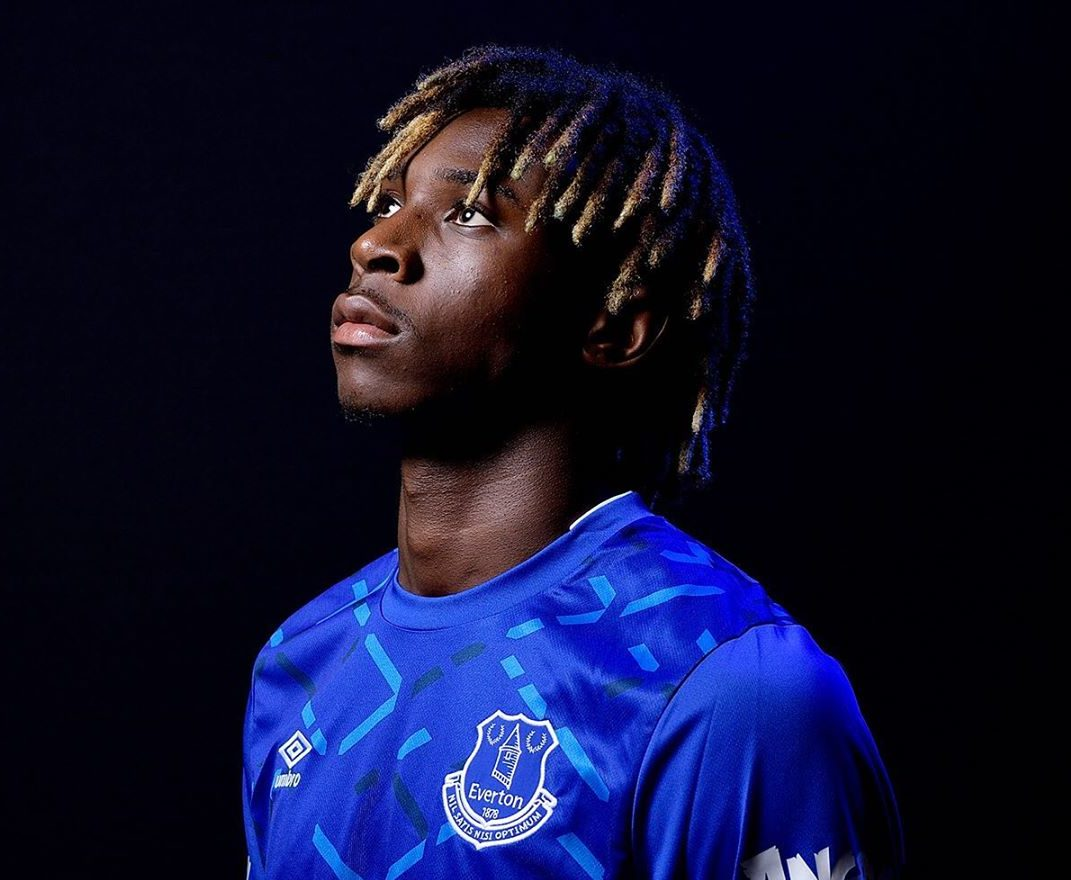 Everton Fans Have Created An Anti Racism Banner For New Signing Moise Kean