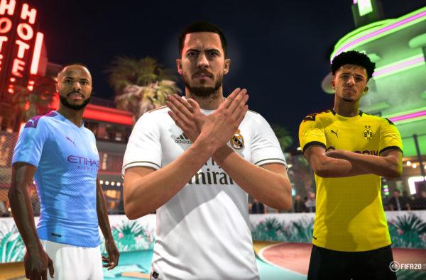 EA SPORTS Drop Off High-Octane FIFA 20 'Volta Football' Gameplay Trailer