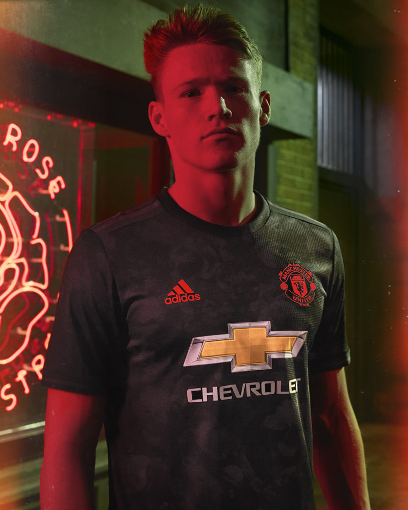 the latest 4d160 9a785 adidas Salute 110 Years of Manchester United History with ...