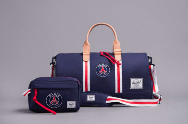 PSG Link Up with Herschel Supply to Drop Extended Luggage Collection