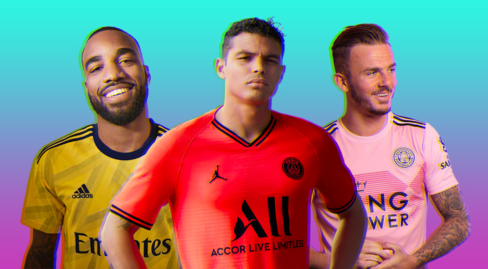 pretty nice 71af0 d98fc The 20 Waviest Football Kits of the 2019/20 Season