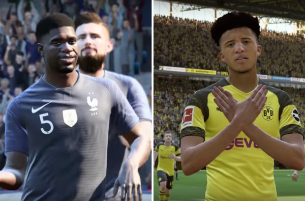 Samuel Umtiti's World Cup Dance is One of the Best New Celebrations in FIFA 20