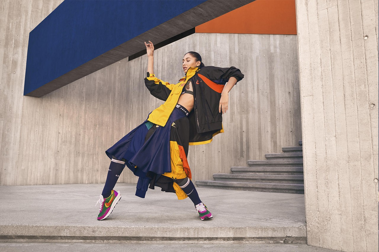 sacai and Nike Unveil Extended Apparel Collection Featuring