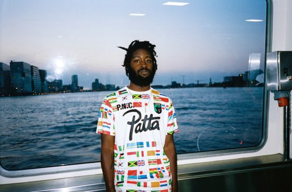 Stay International with Patta's 2019 Soundsystem Football Jersey