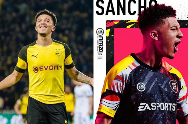 Jadon Sancho Has Been Announced as a Cover Star and Lead Ambassador for FIFA 20 Ultimate Team