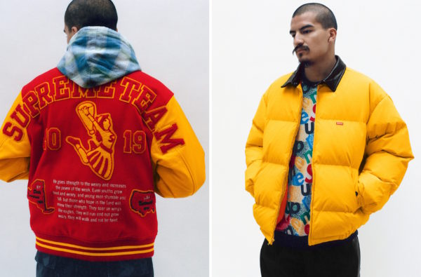 Supreme Steals the Spotlight with Their Fall/Winter 2019 Lookbook